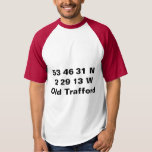 Old Trafford - Manchester United Coordinates Tee