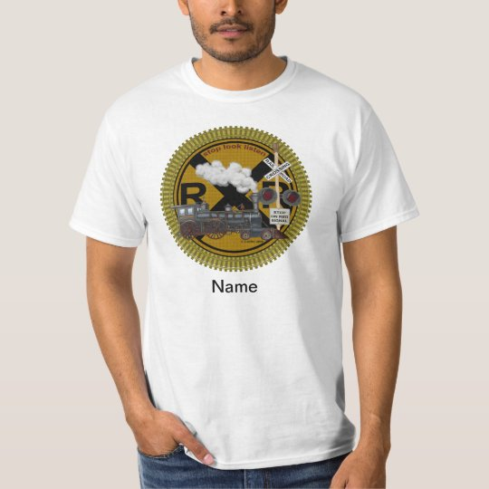 Old Train mens basic t-shirt