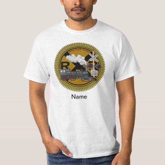 Old Train mens t-shirt
