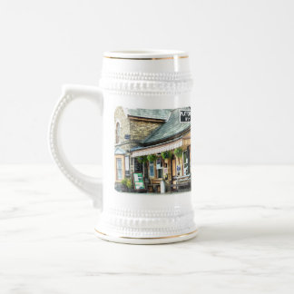 OLD TRAIN STATIONS UK 18 OZ BEER STEIN