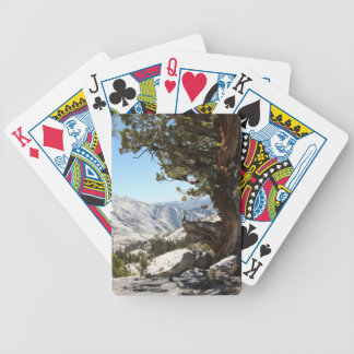 Old Tree at Yosemite National Park Bicycle Playing Cards