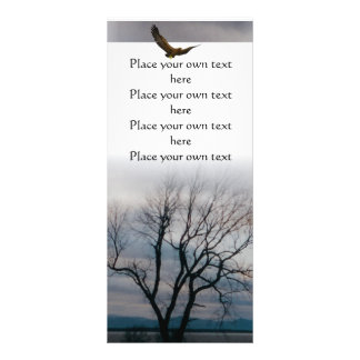 Old tree book mark you Customize Rack Cards
