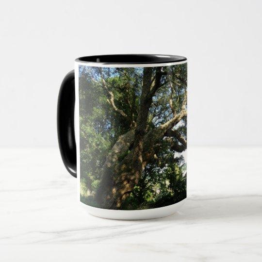 Old Tree Photo  Ringer Combo Mug