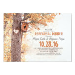 old tree rustic country REHEARSAL DINNER invites