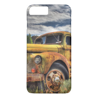 Old truck abandoned in field iPhone 8 plus/7 plus case