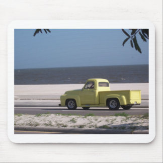 Old truck mouse pad