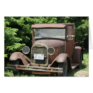 Old Truck Photography Greeting Card