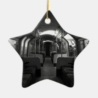 Old Tube Train Christmas Ornament