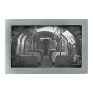 Old Tube Train Rectangular Belt Buckles