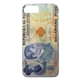 Old Twenty Pesos Philippine Money iPhone 7 Case