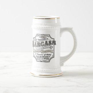 Old Tyme Sarcasm Beer Stein