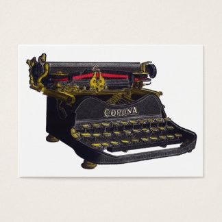 Old Typewriter Business Card