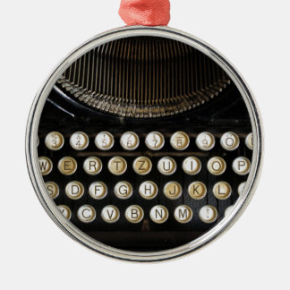old typewriter christmas ornament
