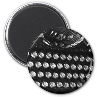 Old typewriter keys magnet