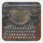 OLd Typewriter Red Table