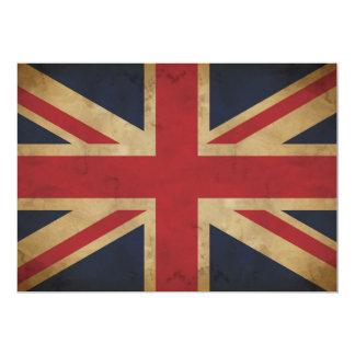Old Union Jack Invitation