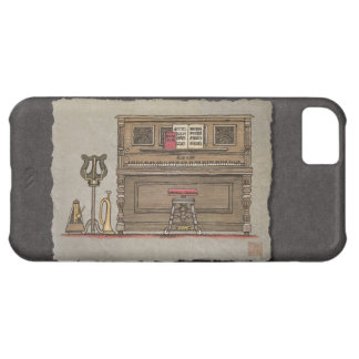 Old Upright Piano iPhone 5C Case