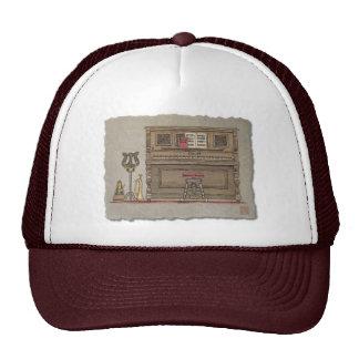 Old Upright Piano Trucker Hats