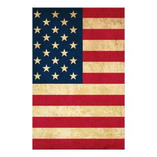 Old USA flag 14 Cm X 21.5 Cm Flyer