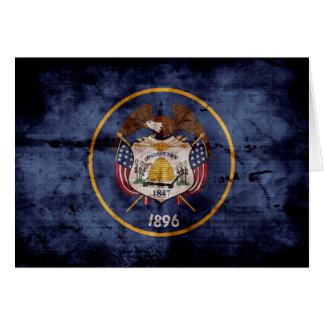 Old Utah Flag; Note Card