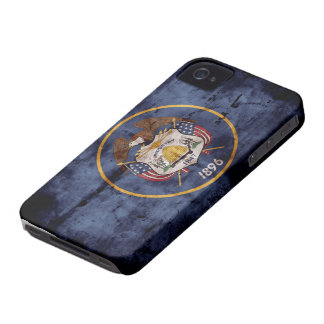 Old Utah Flag; Case-Mate iPhone 4 Cases