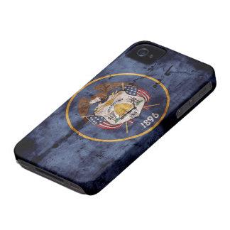 Old Utah Flag; iPhone 4 Case-Mate Cases