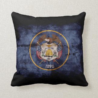 Old Utah Flag; Pillow