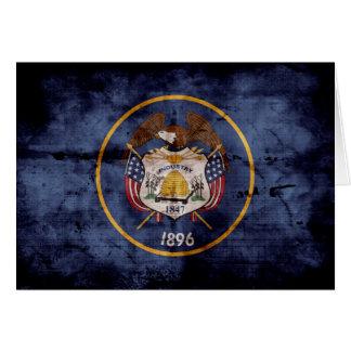 Old Utah Flag; Note Card