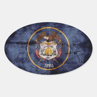 Old Utah Flag; Stickers