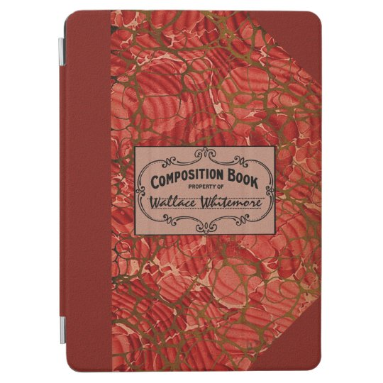 Old Victorian Classic Composition Book iPad Air Cover