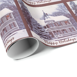 Old Victorian House Wrapping Paper