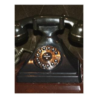 Old Vintage Dial-up Phone Full Color Flyer
