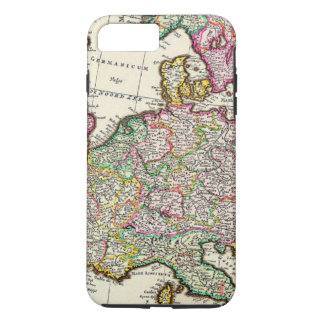 Old Vintage Map of Europe iPhone 7 Plus Case