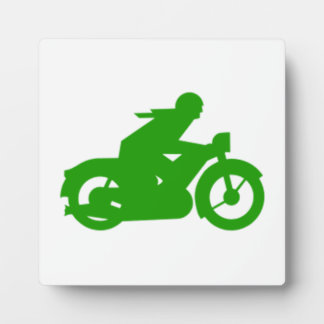 Old Vintage Motorcycle Photo Plaques