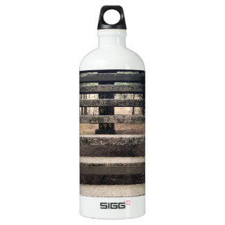 Old vintage stairs outside | SIGG traveller 1.0L water bottle