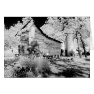 Old Virginia Barn No 2 Greeting Card