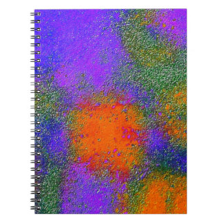 """Old Wall in France Painted"" Notebook"