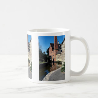 Old water mill, Lower Slaughter, Cotswolds, Englan Coffee Mug