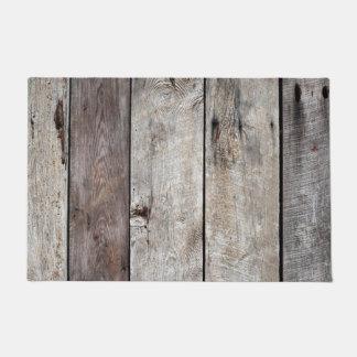 Old Weathered Wood Doormat
