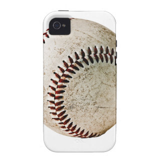 Old well used baseball iPhone 4/4S case