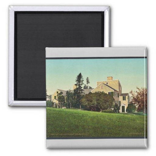 Old Wentworth Mansion, Portsmouth, N.H. rare Photo Refrigerator Magnet
