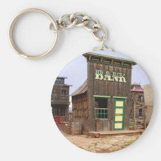 Old West Bank color keychain