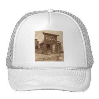 Old West Bank Mesh Hats