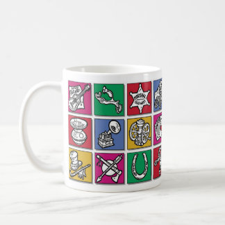 Old West Icons Coffee Mug