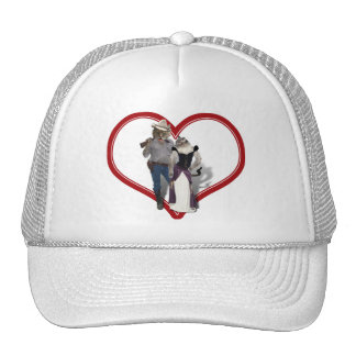 Old West 'Purrfect'  Cat Couple Hat