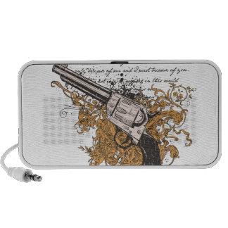 Old West Revolver Speaker