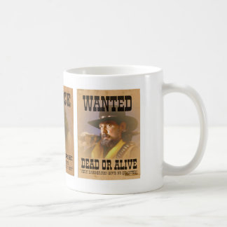 Old West Wanted Posters Mug