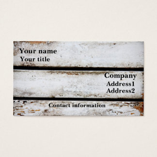 Old white boards business card