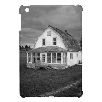 Old white House Cover For The iPad Mini
