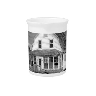 Old white House Pitcher